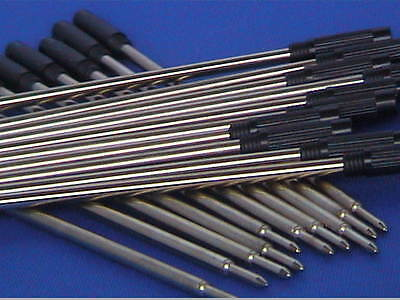 Woodturning Pen Kit Spares - REFILLS - Slimline x 10/Sierra etc x 5 Black/Blue