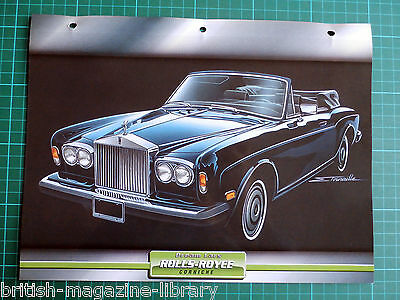 Rolls-Royce Corniche - Dream Cars Atlas Edition