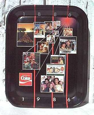 Vassoio Coca Cola Canadian 1986 - Limited Edition - Tray U.s.a.