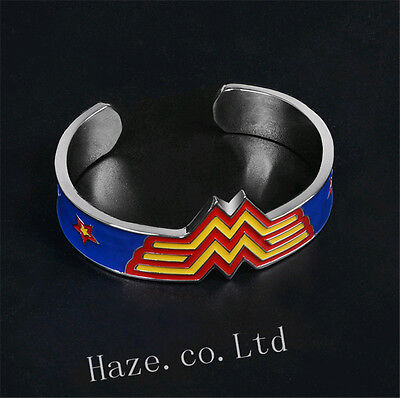 DC Comics Wonder Woman Cosplay Props Metal Cuff Bracelet Gift