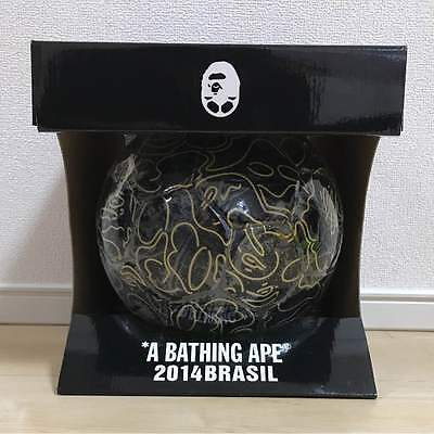 2014 Brazil World Cup A BATHING APE BAPE Ball Soccer Size 5 Official From Japan