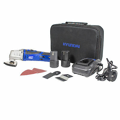 New Hyundai Cordless Oscillating Multi Tool 12V DC Lithium-ion with Accessories