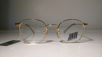 Jean Paul Gaultier JUNIOR 57 0172 vintage sunglasses NEW steampunk GOLD PLATED