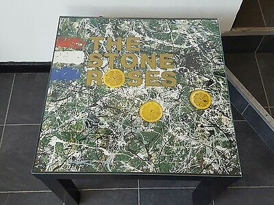 Bluetooth speaker. Stone Roses table with built in speakers.