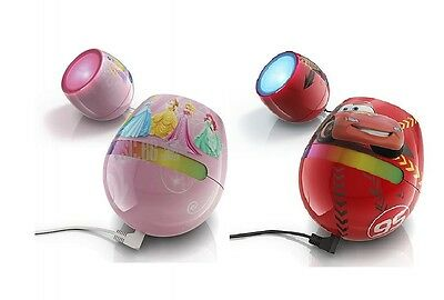 philips Disney LivingColor Micro Cars 64 colours Lamp Night Light
