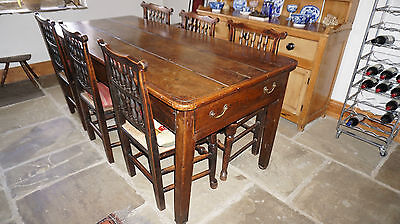 18th century country dining table