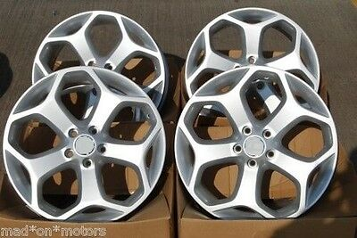 "18"" Alloy Wheels Fits Ford C S Max Focus Kuga Rs Mondeo Transit Connect St1 Silv"