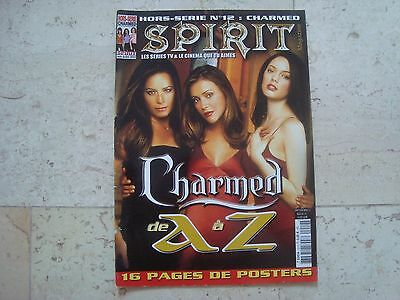 CHARMED magazine SPIRIT + Posters Alyssa Milano Holly Marie Combs Rose McGowan