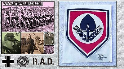 Original WW2 German RAD Labor Corps T-Shirt Emblem (unissued)