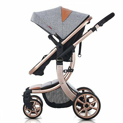 LUXURY 3 in 1 baby stroller foldable Carriage Infant Travel Pram baby pushchair