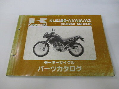 KAWASAKI Genuine Used Motorcycle Parts List KLE250-A1 A1A A2