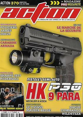 Action N° 370 / Pistolet Semi-Auto Hk 9 Para P30 - Dague Commando Wildsteer