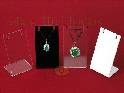 1/2/3/5/10PCS Acrylic Amulet Pendant Earring Hook Jewerly Display Holder Stand