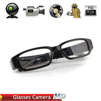 720P HD Spy Glasses Camera Camcorder Hidden Eyewear Security DVR Video Recorder
