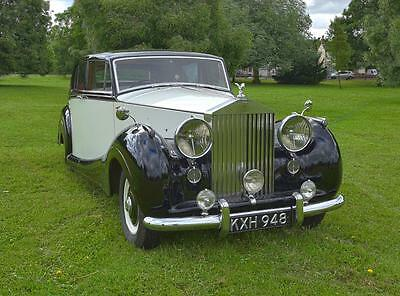 1949 Rolls Royce Silver Wraith James Young touring limousine