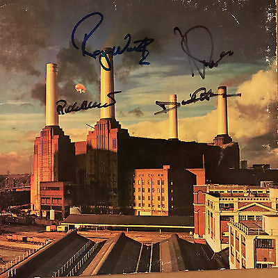 Pink Floyd Animals Lp Signed And Authenticated