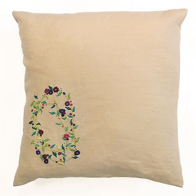DMC Embroidery Meadow Sweet Cushion Kit - Sprig Spiral