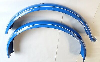 "VINTAGE 1950's SCHWINN HORNET 24"" BICYCLE BALLOON TIRE FENDER SET *NOS*"