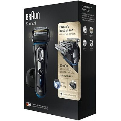 Braun Series 9 9240s Mens Electric Foil Shaver, Wet and Dry Razor Rechargeable