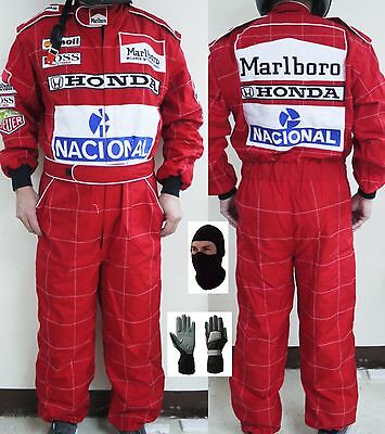 Go Kart Race Suit CIK FIA Level 2 with free gift Gloves and balaclava
