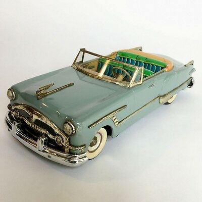 Rare Vintage Tin Vehicle 1950's Packard Convertible Car Masterpiece from Japan