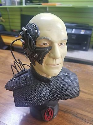Star Trek Captain Picard as Locutus of Borg Bust RARE Collectible - Special!!