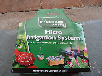 Garden Watering Irrigation System. Kingfisher 6Mm X 23M New. Tube. Still Boxed