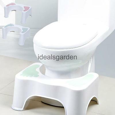 Sit And Squat Squatty Potty Toilet Stool Healthy Colon Constipation Green