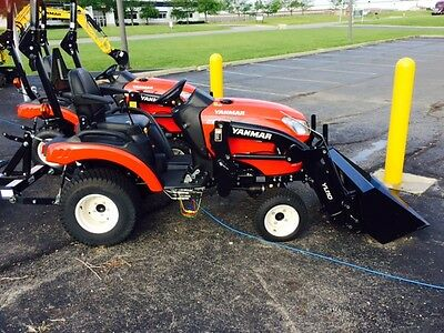 New Yanmar 21HP sub-compact tractor