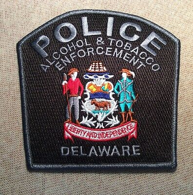 DE Delaware Alcohol & Tobacco Enforcement Police Patch