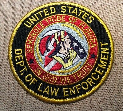 FL Seminole Tribe of Florida Department of Law Enforcement Patch