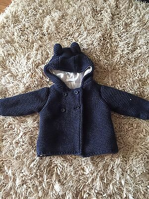 Baby Boy Knitted Cardigan/ Jacket