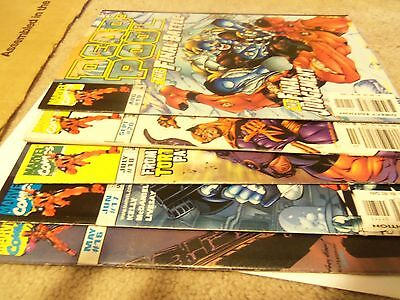 deadpool #16-20 1997 5 issue lot 16,17,18,19,20