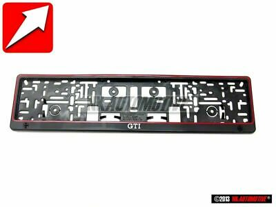 VW Classic GTI 16V G60 License Number Plate Holder Frame Surround - ZCP904108