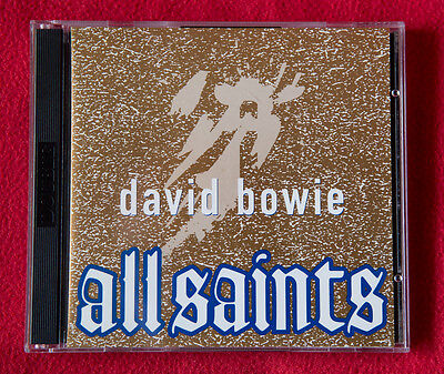 "David Bowie ‎– ""All Saints"" Instrumental Christmas '93 super rare cd promo"