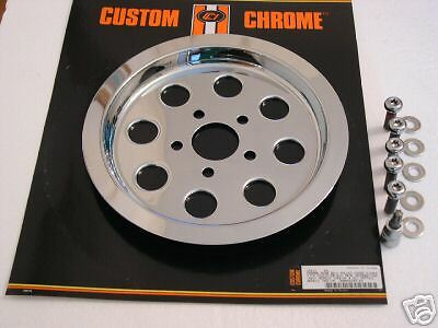 8 hole Chrome Pulley cover 70T for Harley-Davidson 1340 84-99 25290