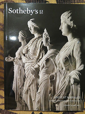 Sotheby's Ancient Marbles Classical Sculpture Works of Art Roman Marble Catalog