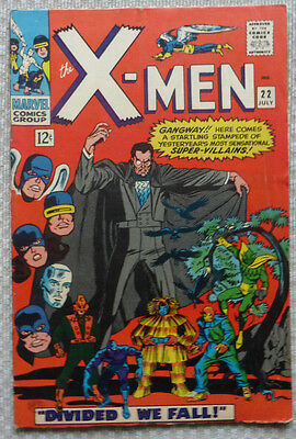 Marvel Original X-MEN #22, July 1966 (FN-/FN) Silver Age Classic
