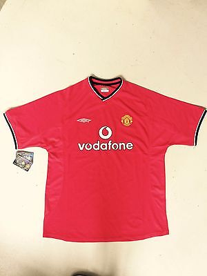 maillot manchester united umbro 2000/2002