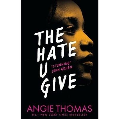 The Hate U You Give Angie Thomas Novel Young Adult Fiction Crime Justice Book
