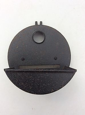 Vtg WW2 Black Out Mask WD Military Headlamp Cover Motorcycle Norton BSA Triumph