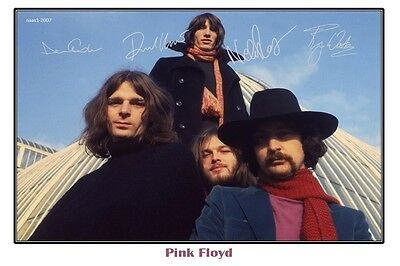 4x6 SIGNED AUTOGRAPH PHOTO PRINT OF PINK FLOYD #46