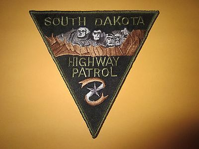 Collectible South Dakota Highway Patrol Patch Subdued New