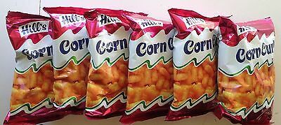 Hills Corn Curls Cheese Flavored Puff Party Snacks (Six pack)