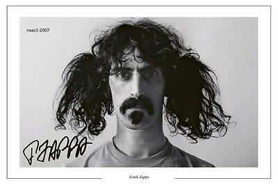 4x6 SIGNED AUTOGRAPH PHOTO PRINT OF FRANK ZAPPA #46