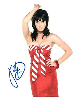4x6 SIGNED AUTOGRAPH PHOTO PRINT OF KATTY PERRY #48