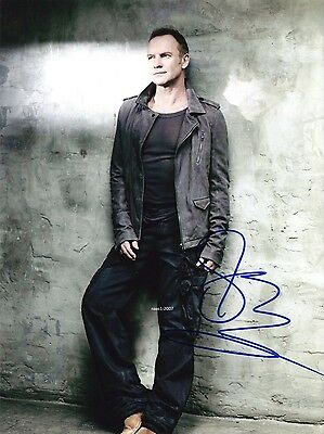 4x6 SIGNED AUTOGRAPH PHOTO PRINT OF THE POLICE STING #48