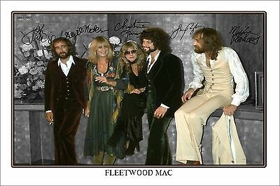 4x6 SIGNED AUTOGRAPH PHOTO PRINT OF FLEETWOOD MAC #48