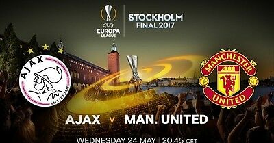 ajax v manchester united  press kit  uefa europa league cup final 24 may 2017