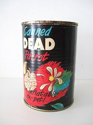 Monty Python Life of Brian canned Dead Parrot TV Film Comedy Tin Unopened